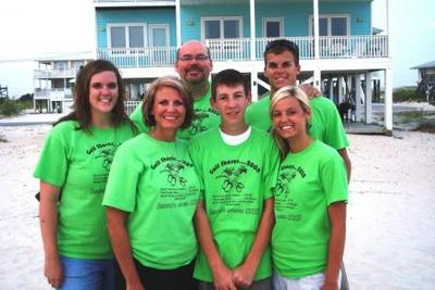 Kennedy Family Reunion Gulf Shores Al 08' T-Shirt Photo