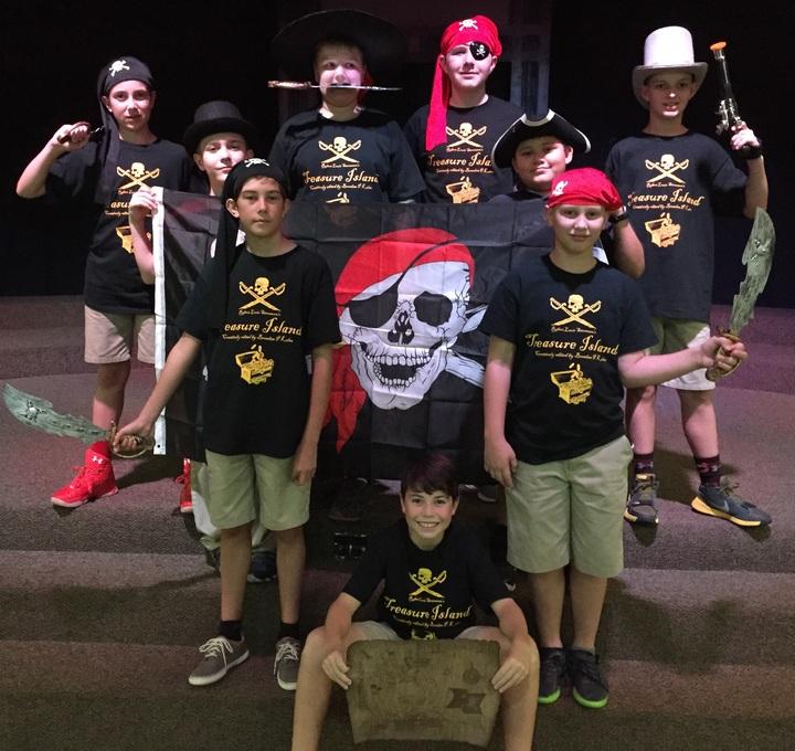 Treasure Island   6th Grade Boys Theater Wheel T-Shirt Photo