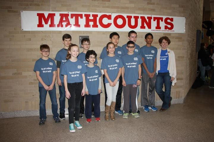 Tms Mathcounts Competition T-Shirt Photo