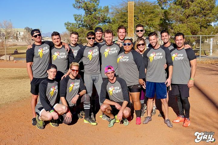 Mouth Stuff Kickball In Vegas T-Shirt Photo