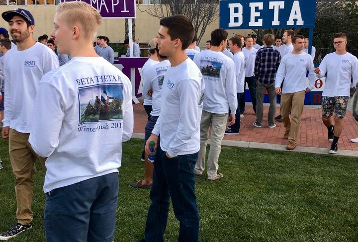 Beta Theta Pi Winter Rush Shirts T-Shirt Photo