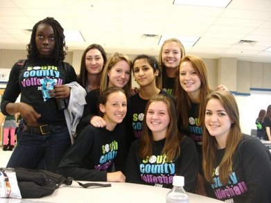 South County Volleyball T-Shirt Photo