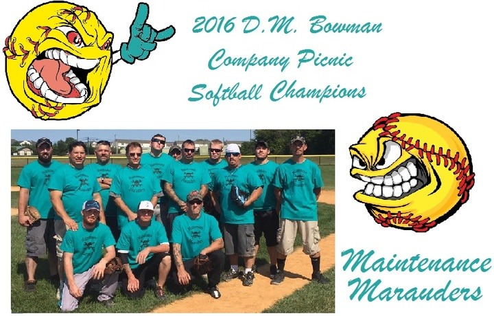 Company Softball Champs T-Shirt Photo