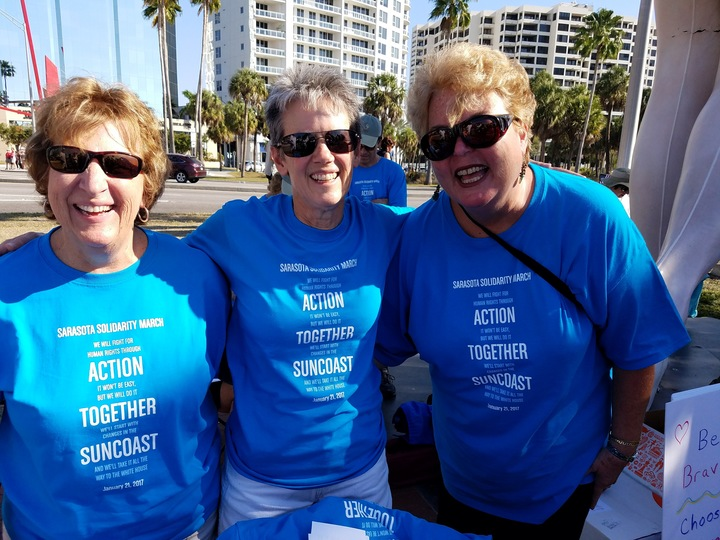 Three Proud Members Of Action Together Suncoast T-Shirt Photo