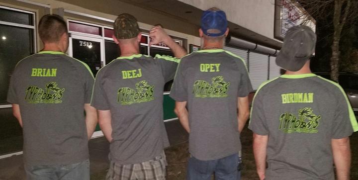 Team #Get Flyp D Billiards League T-Shirt Photo
