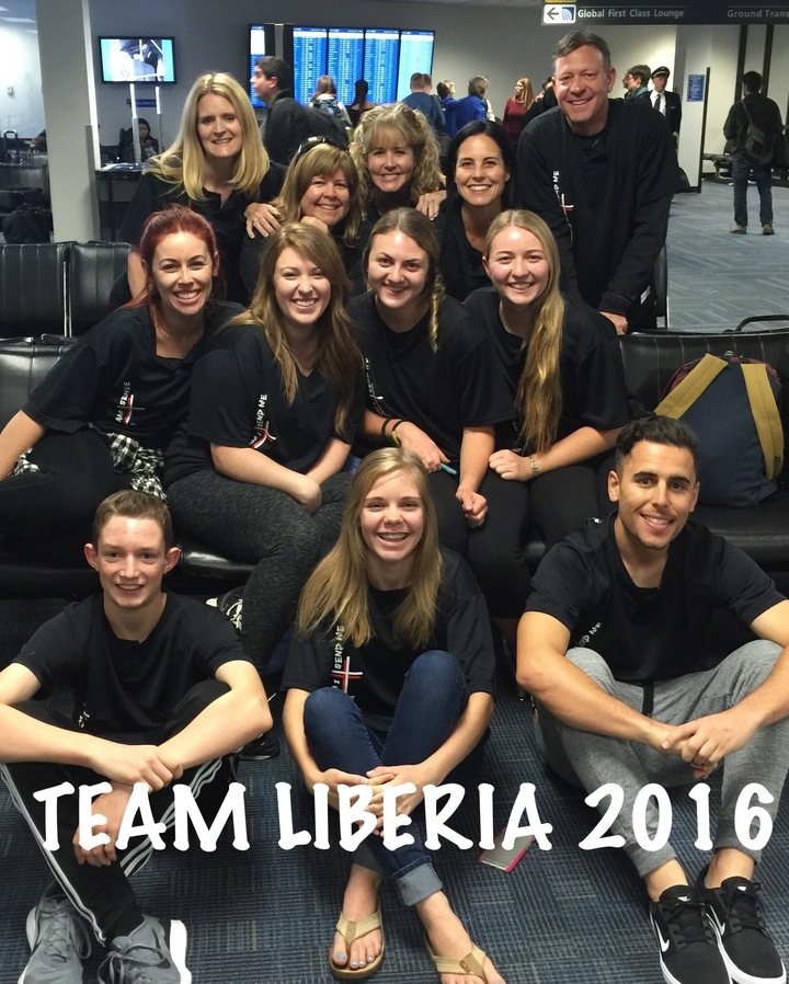 Containers Of Hope Team Liberia T-Shirt Photo