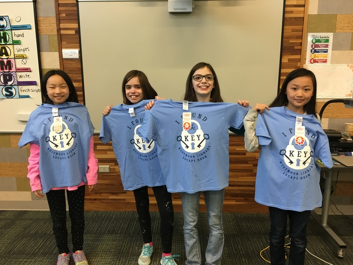 Escape Room Winners! T-Shirt Photo