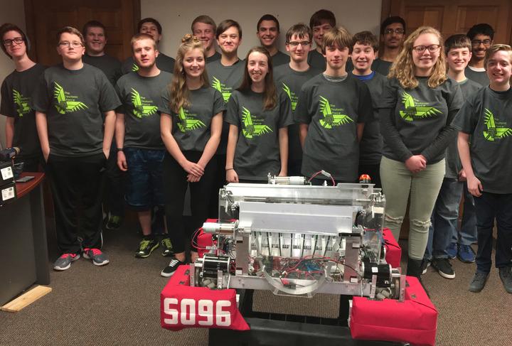 The Teutonic Force Robotics Team, Germantown Wi T-Shirt Photo