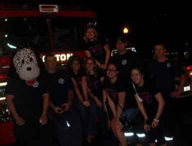 Firefighters Love Turtle Crawlers T-Shirt Photo