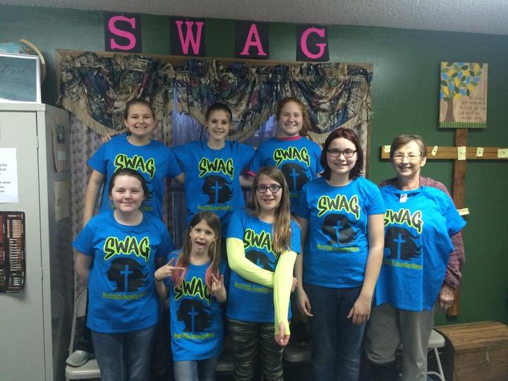 Swag Girls  T-Shirt Photo