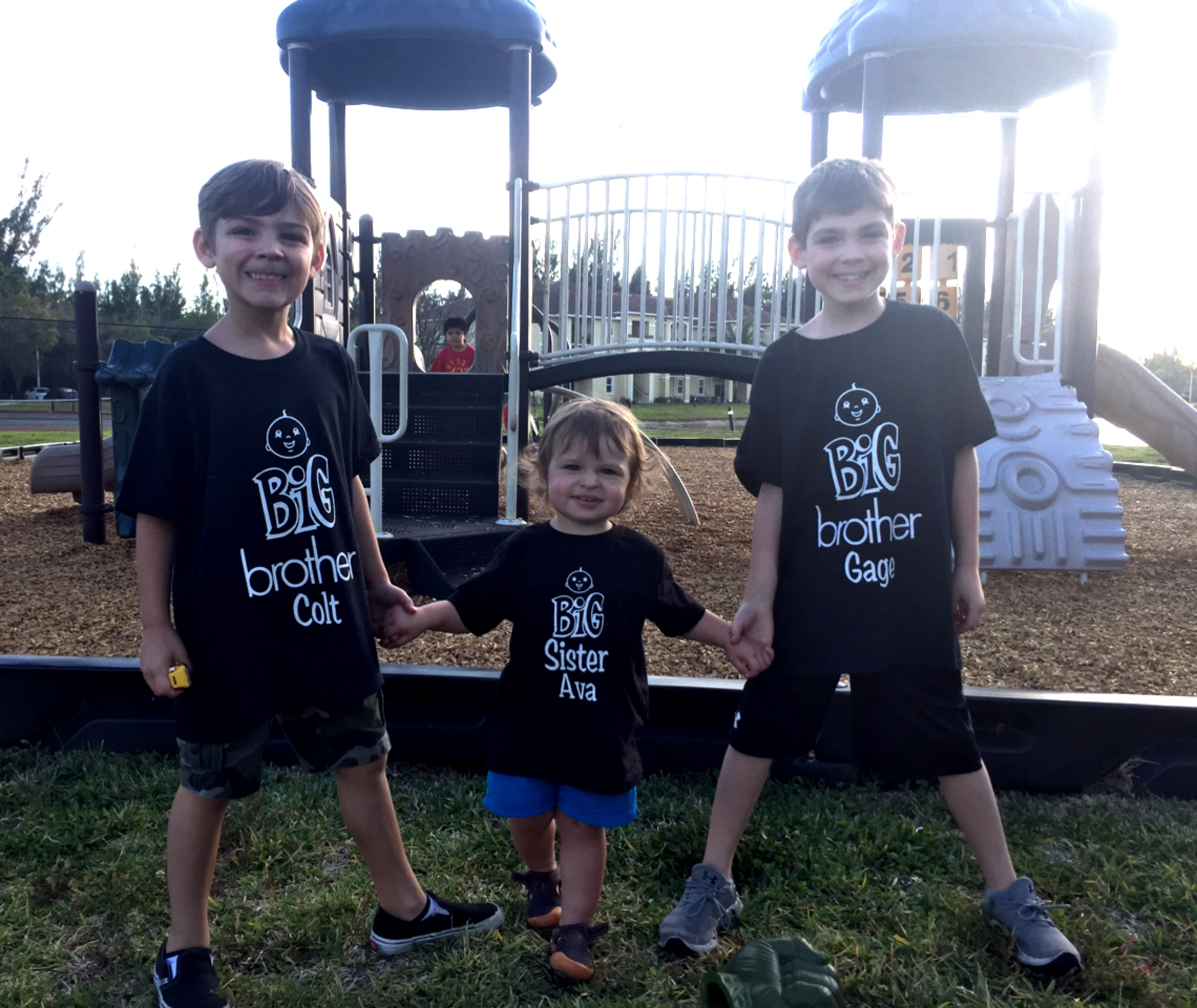 Custom T Shirts For Big Brothers And New Big Sister Oon Shirt Design Ideas