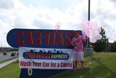 Wash Your Car For A Cause   Susan G. Komen Fundraiser T-Shirt Photo