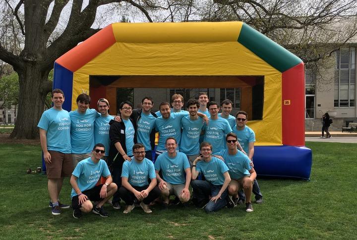 Philanthropy On The University Quad T-Shirt Photo