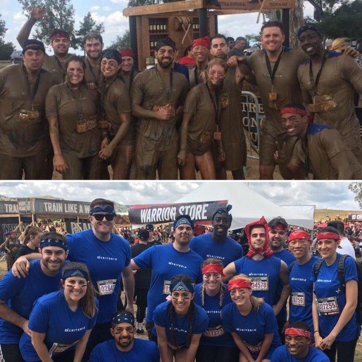Warrior Dash Team Photo