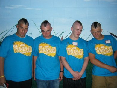 Mission Trip Mohawks T-Shirt Photo