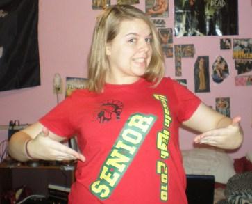 Officially A Senior W/ This Shirt T-Shirt Photo