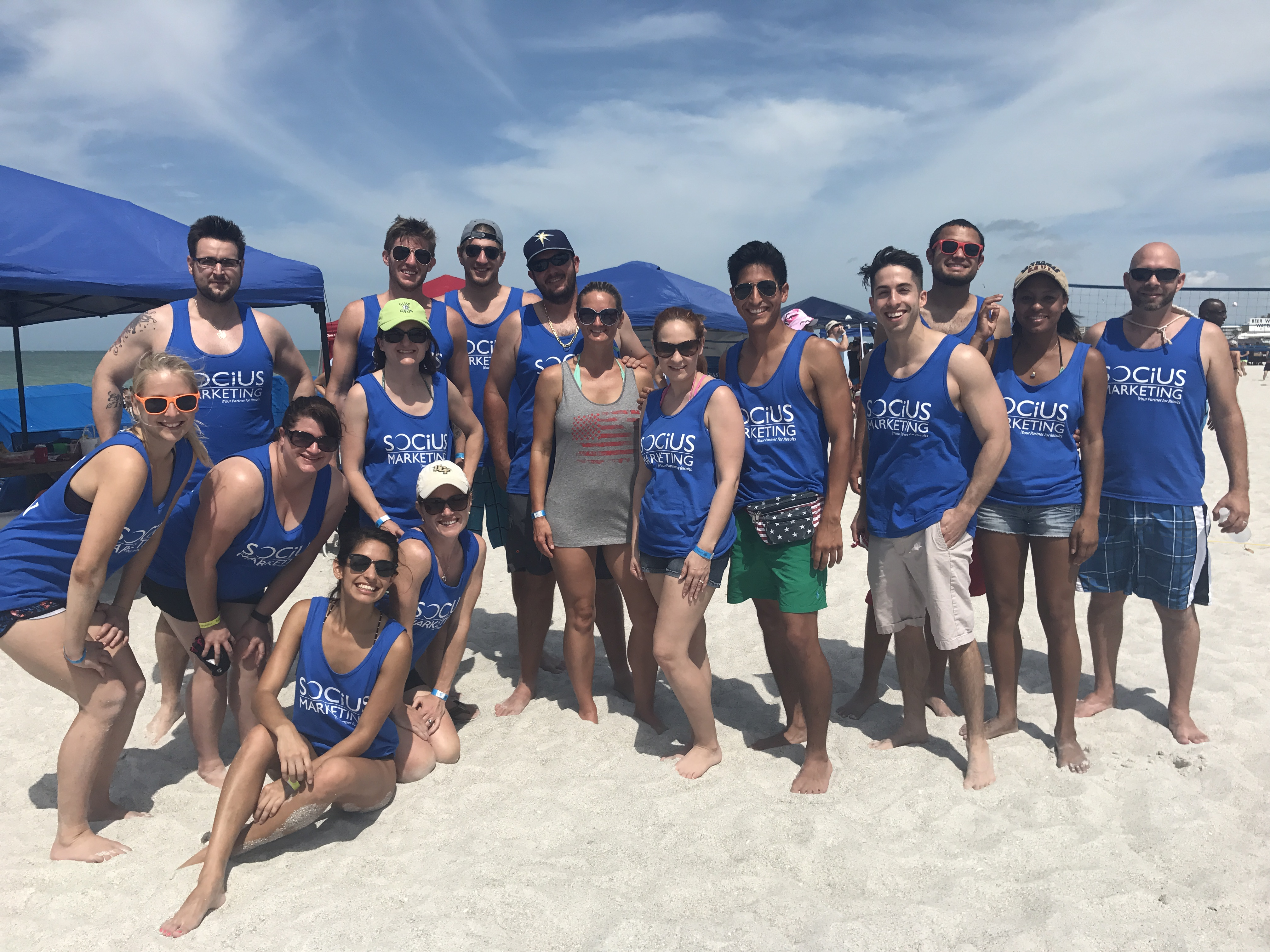 Custom T-Shirts for Team Building At Sportsfest 2017 - Shirt ...