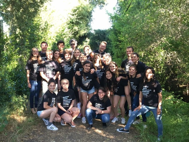 Pinewood Performing Arts Into The Woods Cast & Crew T-Shirt Photo