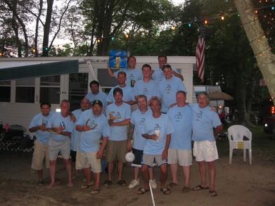 "King Nummy ""D Stroyers"" Horseshoe Club T-Shirt Photo"
