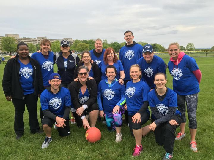 2017 Hr Kickball Team T-Shirt Photo