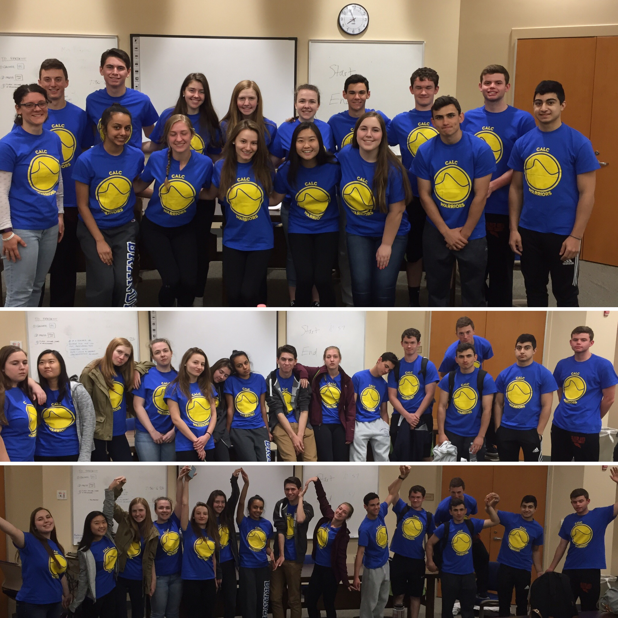 872709eb1 Custom T-Shirts for Bc Calc Warriors Before & After - Shirt Design Ideas