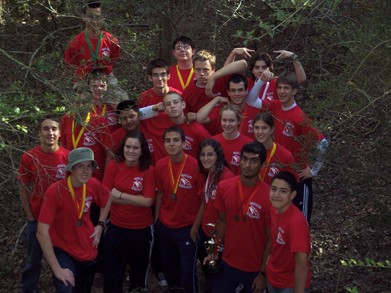 Clear Lake High School Orienteering Team T-Shirt Photo