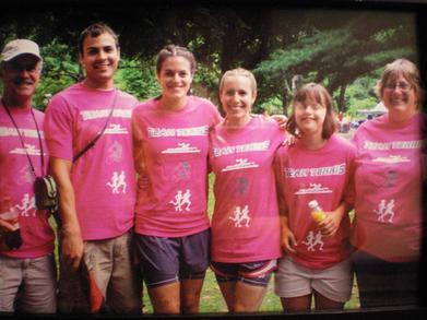 Team Tennis At The Triathlon T-Shirt Photo