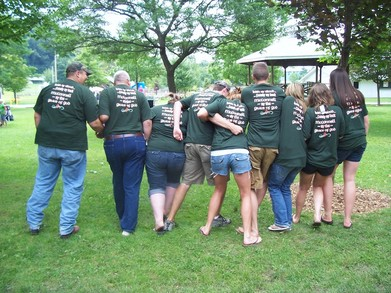 Family Reunion '09 T-Shirt Photo