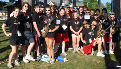 The Alto Saxes At Band Camp T-Shirt Photo