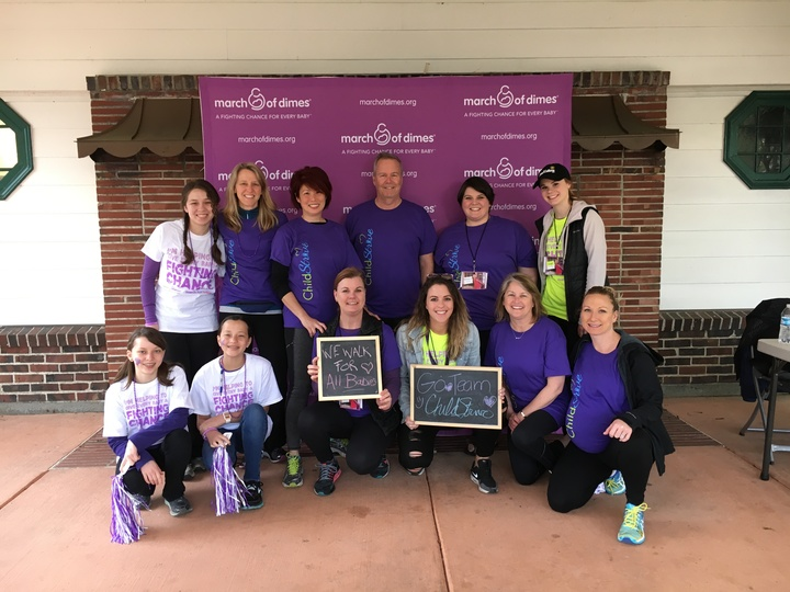 March of Dimes team names