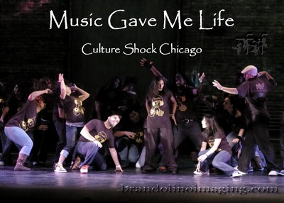 Music Gave Me Life Feat Culture Shock Chicago T-Shirt Photo