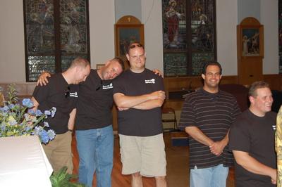 Groomsmen Shuffle T-Shirt Photo