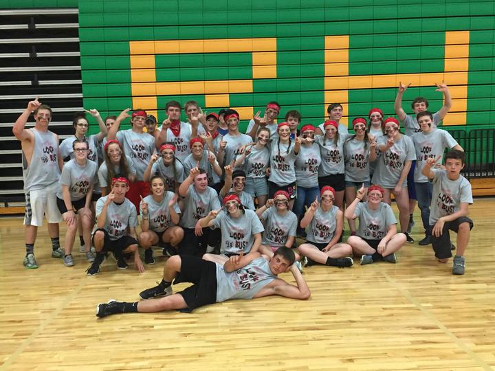 Crest Ridge High School Senior Class Of 2018 T-Shirt Photo