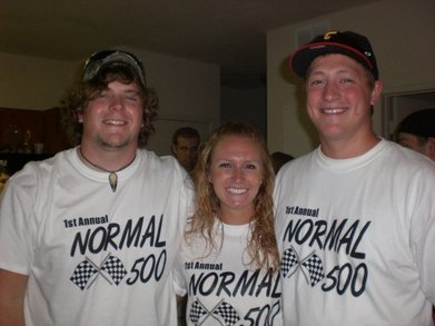 The Normal 500 Bar Crawl Race T-Shirt Photo