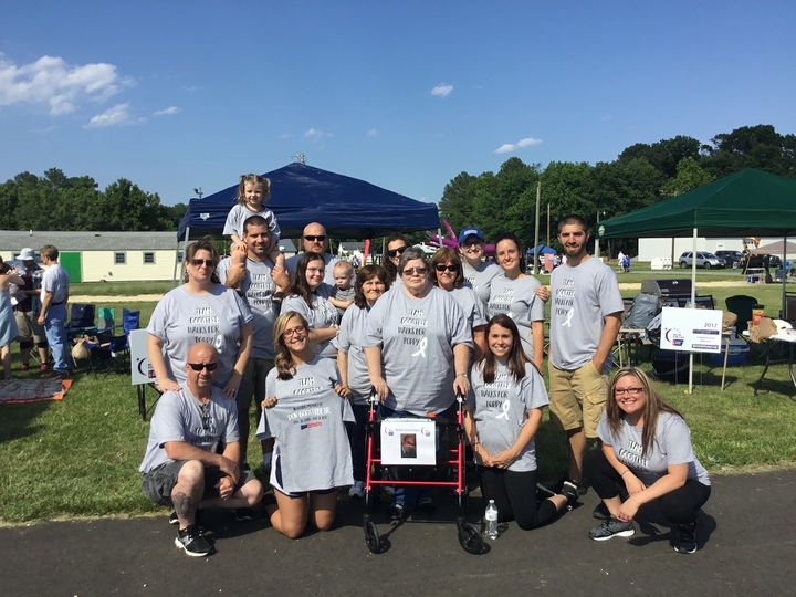 Team Goostree Walks For Poppy T-Shirt Photo