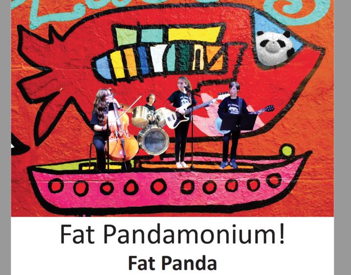 Fat Panda Cd Cover T-Shirt Photo