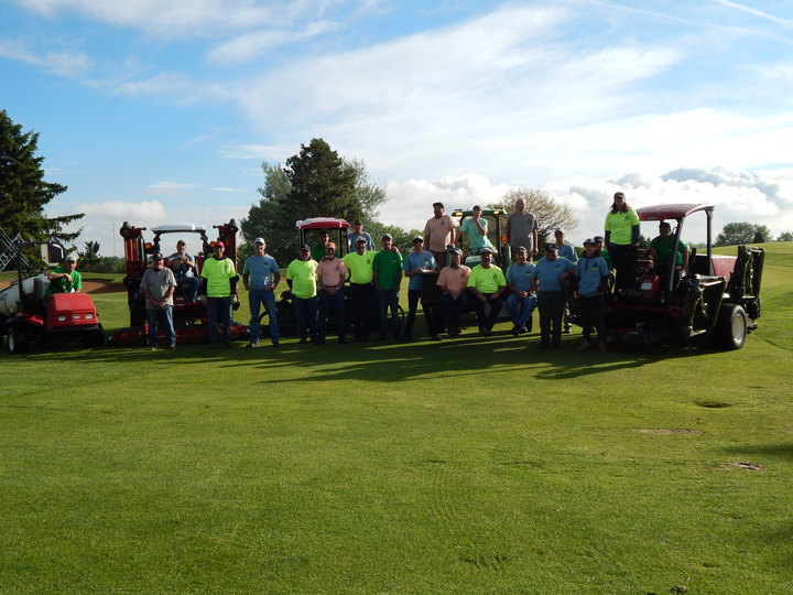 Golf Maintenance  T-Shirt Photo