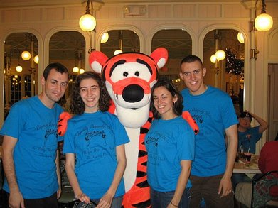 Thanksgiving With Winnie The Pooh And Tiger Too T-Shirt Photo
