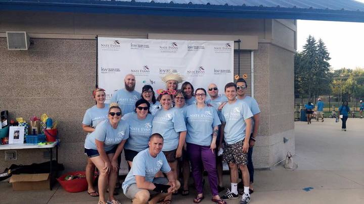 The Nate Evans Group Summer Shindig T-Shirt Photo