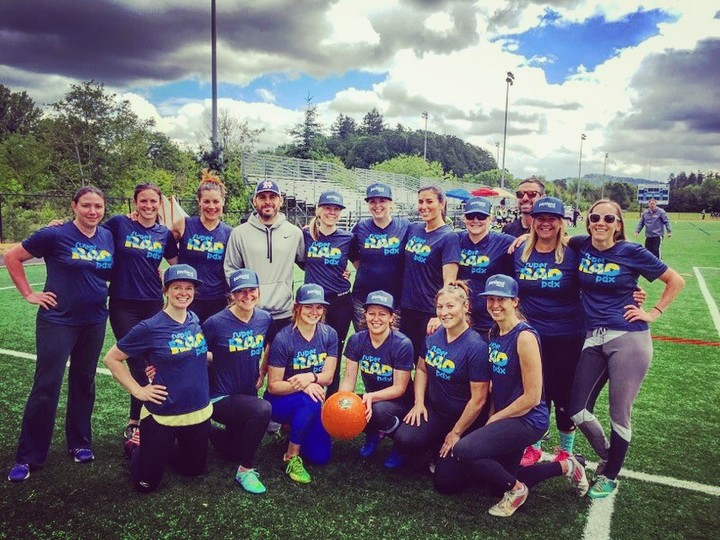 Super Rad Pdx National Women's Kickball 365 Tournament T-Shirt Photo