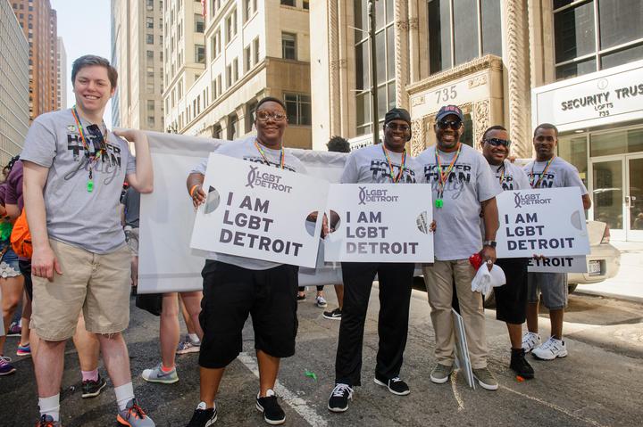 Lgbt Detroit's Celebtrates Pride! T-Shirt Photo
