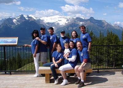 Canadian Rockies T-Shirt Photo