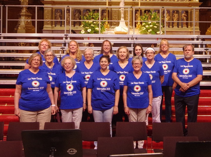 Singing In The Berliner Dom.  T-Shirt Photo