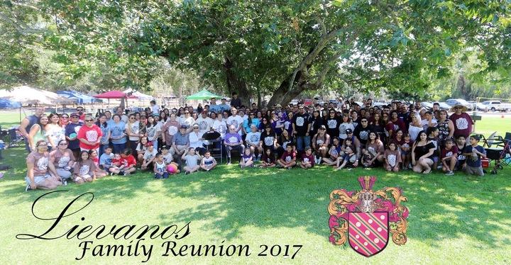 Lievanos Family Reunion 2017 T-Shirt Photo