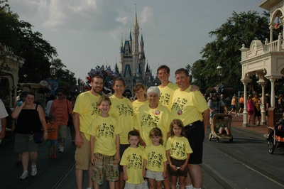 The Lau's And Murphy's Do Disney! T-Shirt Photo