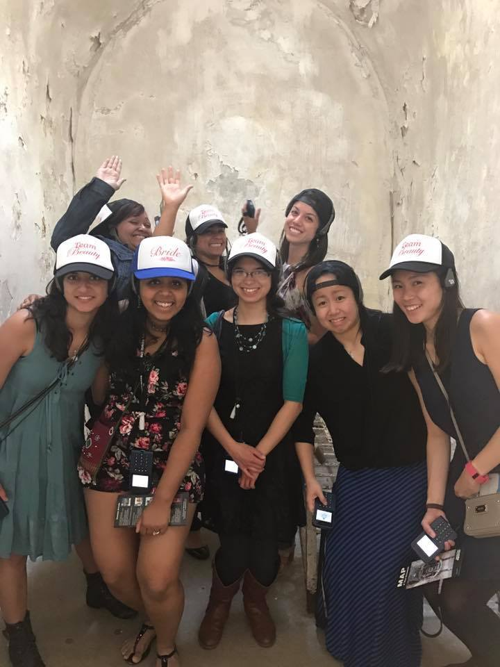 Team Beauty Takes On Eastern State Penitentiary T-Shirt Photo