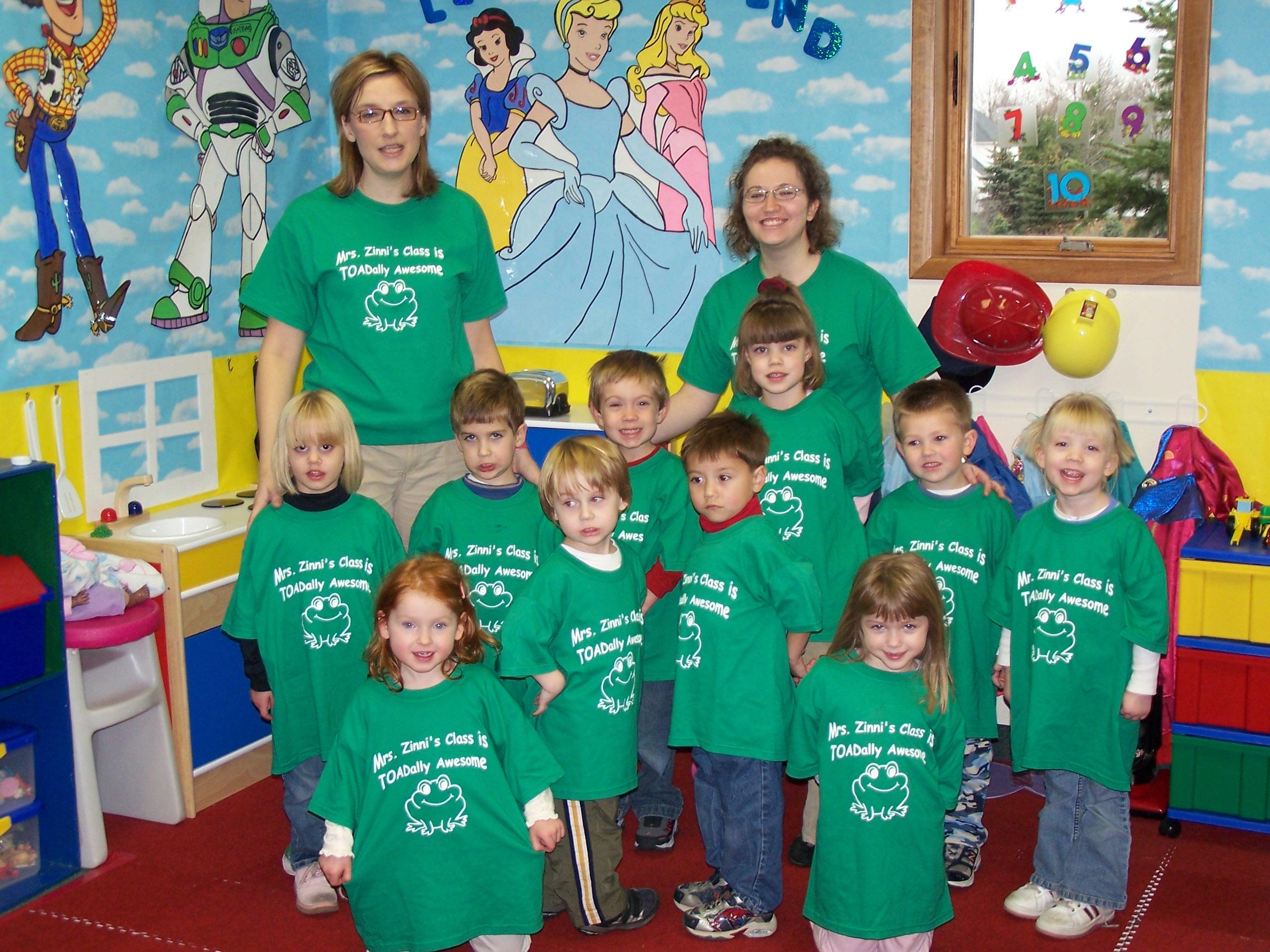 Custom T-Shirts for Mrs. Zinni\'s Class - Shirt Design Ideas
