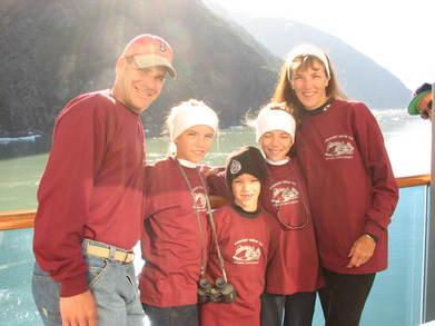 Alaskan Glaciers T-Shirt Photo