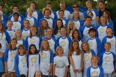 Jupiter Dragons Junior Olympic Swim Team T-Shirt Photo