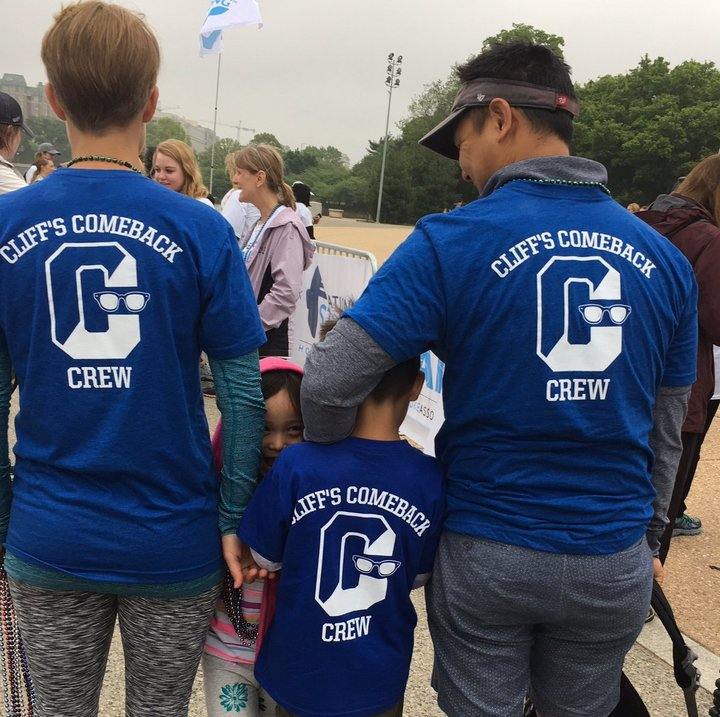 Cliff's Comeback Crew T-Shirt Photo